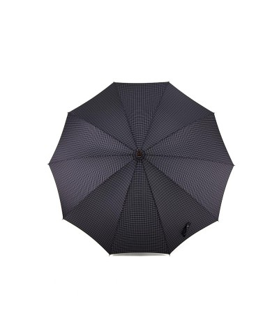 → Parapluie Monture Anglaise - Long Carreau Homme - Fabrication Traditionnelle - Maison Pierre Vaux