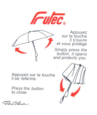 "→ ""Mini Golf "" Umbrella - Scottish N°3 - Automatic Opening/Closing - Umbrella Manufacturer Maison Pierre Vaux"