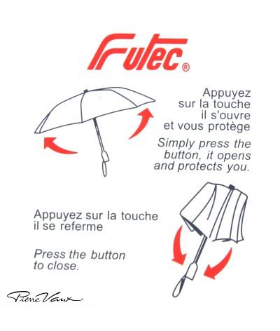 """→ Parapluie """"Mini Golf """" Ouverture/Fermeture Automatique - Écossais N°3 - Maison Pierre Vaux"""
