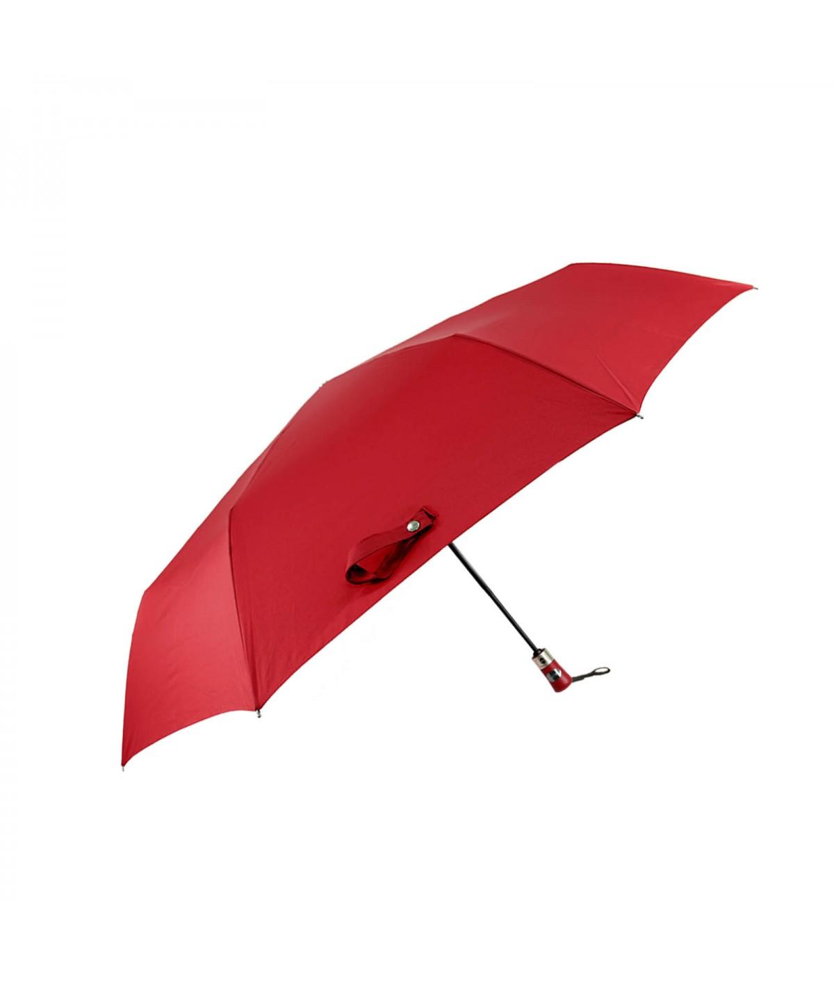 """→ Parapluie """"Mini Golf"""" Ouverture / Fermeture Automatique - Rouge - Par Maison Pierre Vaux"""