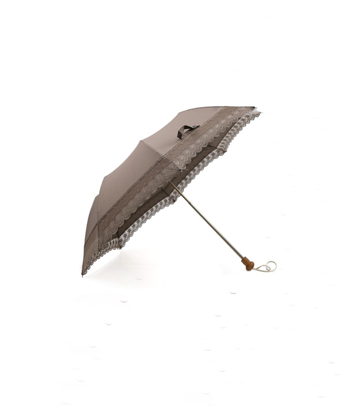 → Ombrelle Romantique Pliante à Dentelle - Made in France par le leader des fabricants de parapluies français Maison Pierre Vaux