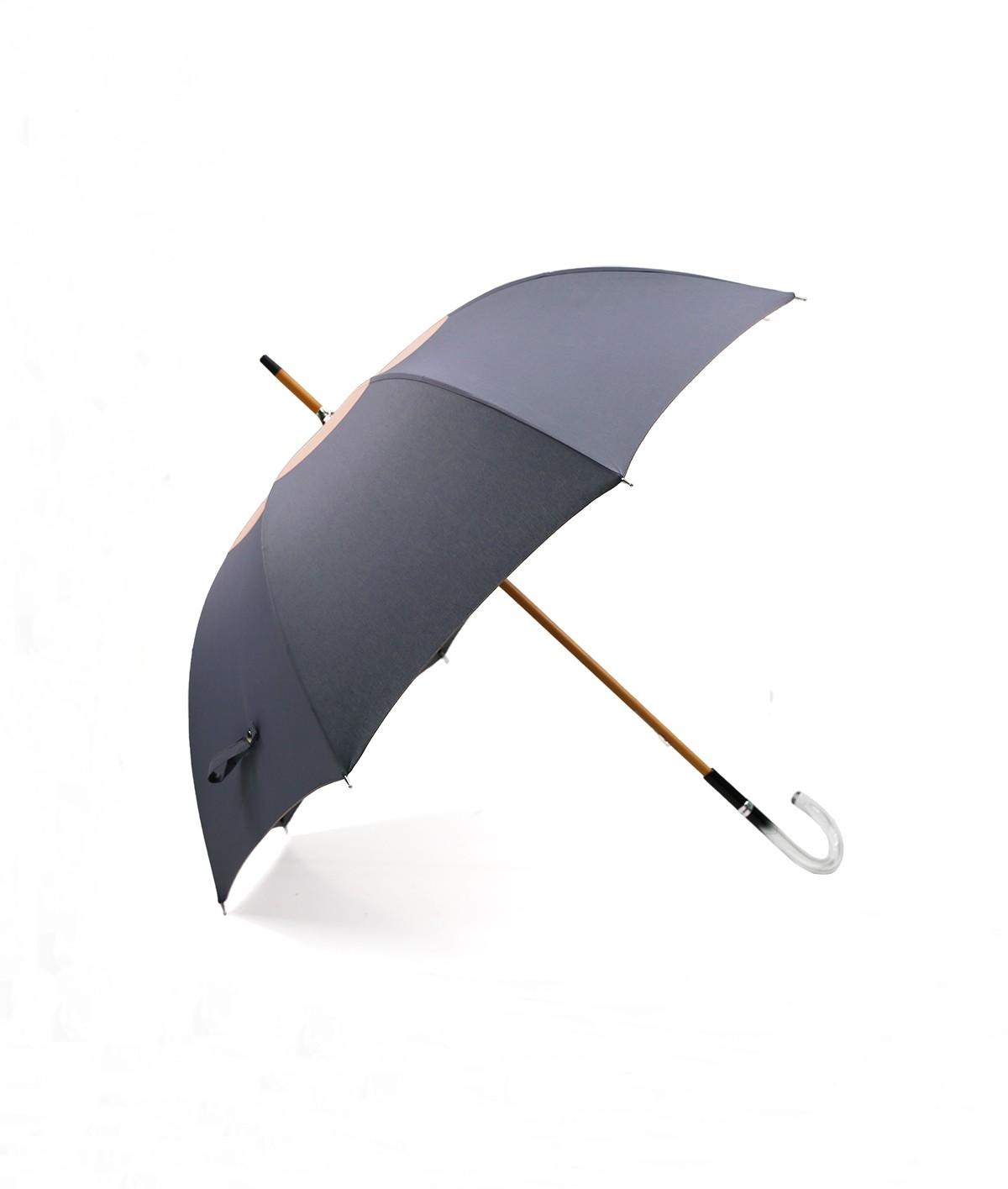 """→ Parapluie-Ombrelle - Série Limitée """"Les Bicolors"""" - Gris et Rose - Fabrication Made in France"""