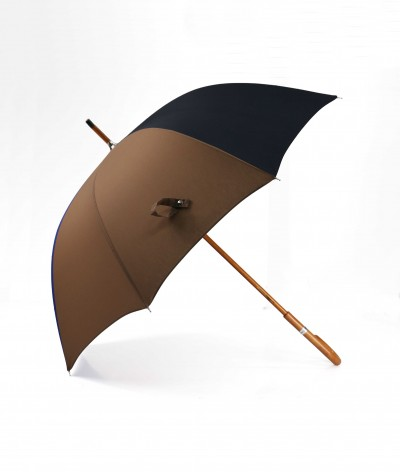 "→ ""The Harmony of Shades"" Umbrella - Col. N°4 - Long manual Handcrafted by the French Umbrellas Manufacturer Maison Pierre Vaux"