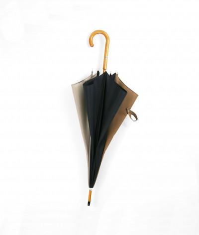 """→ Parapluie """"L'Harmonie des Teintes"""" Coloris n°2 Long Manuel -  Parapluie Made in France Haut de Gamme - Maison Pierre Vaux"""