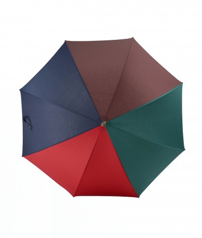 """→ """"The Harmony of Shades"""" Umbrella - Col. N°2 - Long manual Handcrafted by the French Umbrellas Manufacturer Maison Pierre Vaux"""