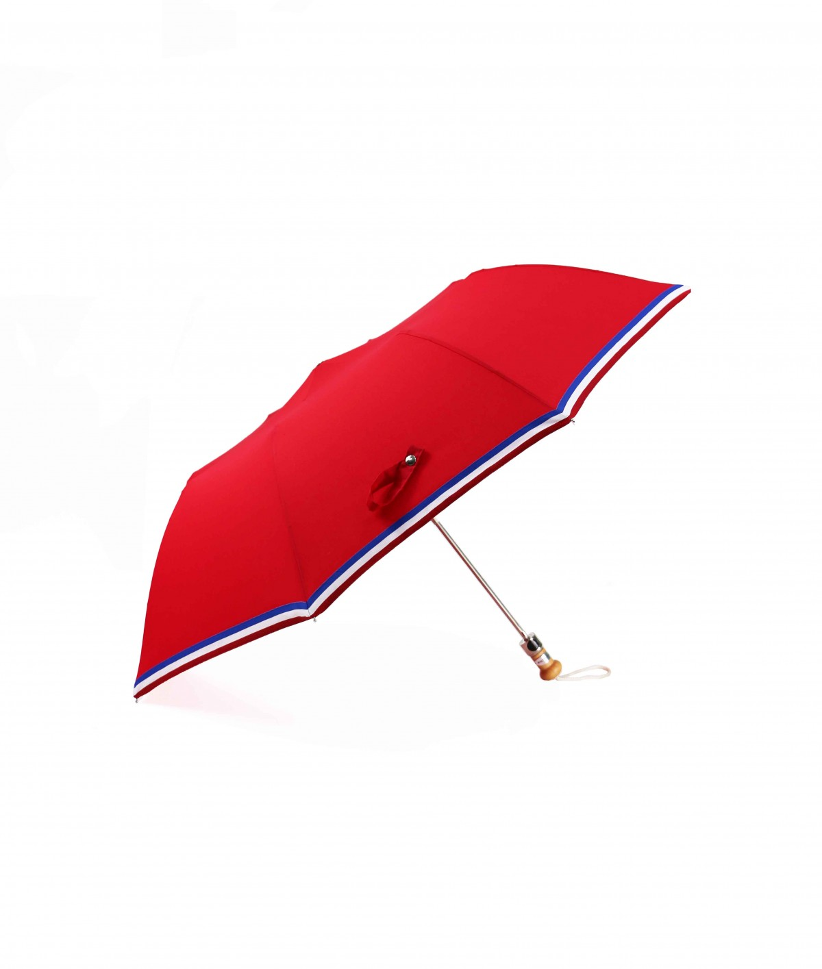 """→ """"The Made in France"""" Umbrella - Navy Blue - Automatic folding - Handcrafted in France By Maison Pierre Vaux"""