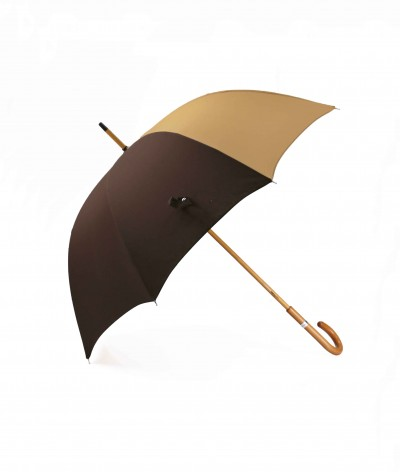 """→ """"The Harmony of Shades"""" Umbrella - Col. N°7 - Long manual Handcrafted by the French Umbrellas Manufacturer Maison Pierre Vaux"""