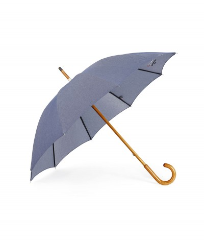 """→  """"Denim 100 years"""" Umbrella - Classic - Made in France with the traditional French Savoir-Faire"""