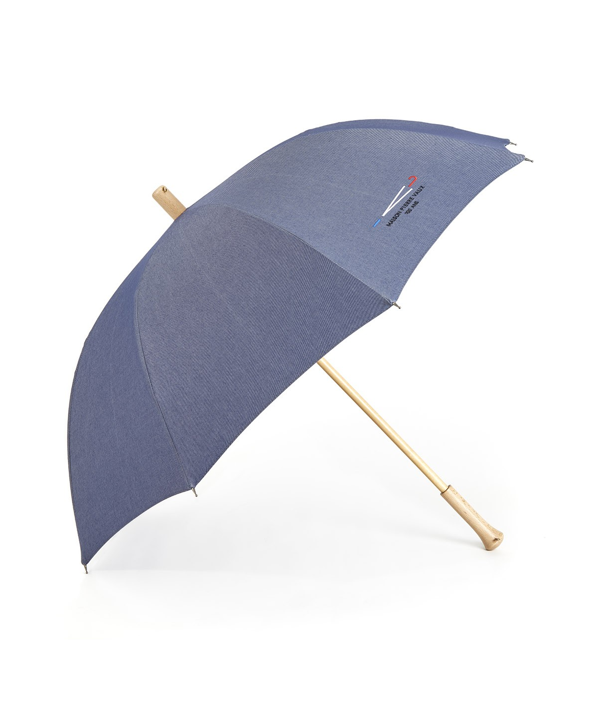 "→  ""Denim 100 years"" Umbrella - Shoulder strap - by the French Umbrella Manufacturer"