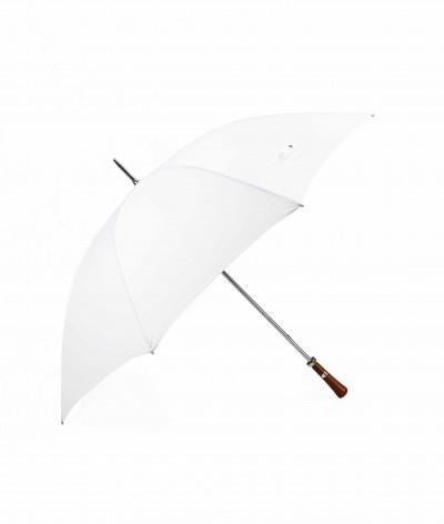 """→ Parapluie """"Le Golf"""" - Blanc - Parapluie Idéal Pour les Evénements Officiels et Privés - Maison Pierre Vaux"""