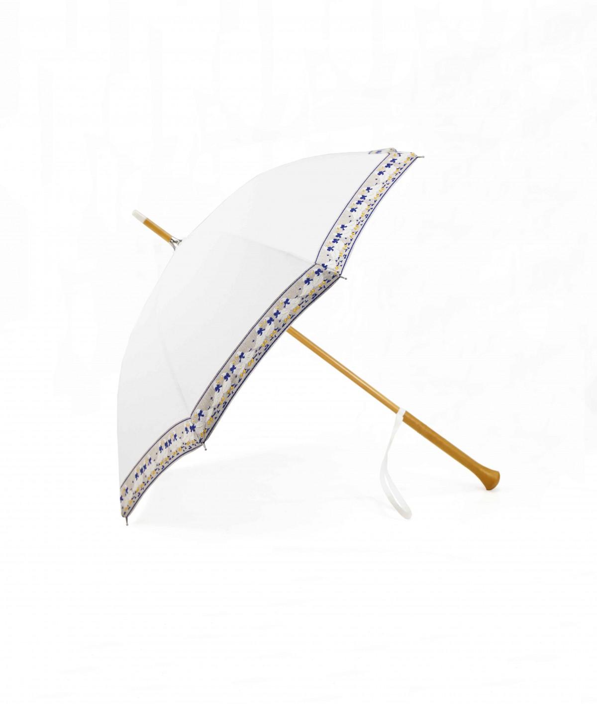 """→ Ombrelle - """"Petites Oies"""" - Made in France par le fabricant de Parapluie Maison Pierre Vaux"""