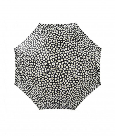 → Parapluie Satin Imprimé Fantaisie - Long Manuel N°1 - Made in France par Maison Pierre Vaux Fabricant Français de Parapluie