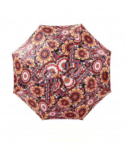 → Parapluie Satin Imprimé Fantaisie - Long Manuel N°4 - Made in France par Maison Pierre Vaux Fabricant Français de Parapluie