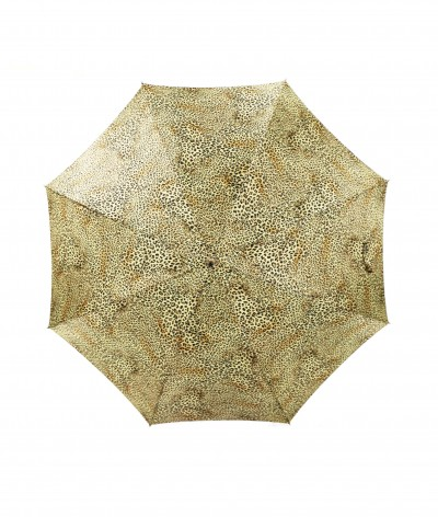 → Parapluie Satin Imprimé Fantaisie - Long Manuel N°11 - Made in France par Maison Pierre Vaux Fabricant Français de Parapluie