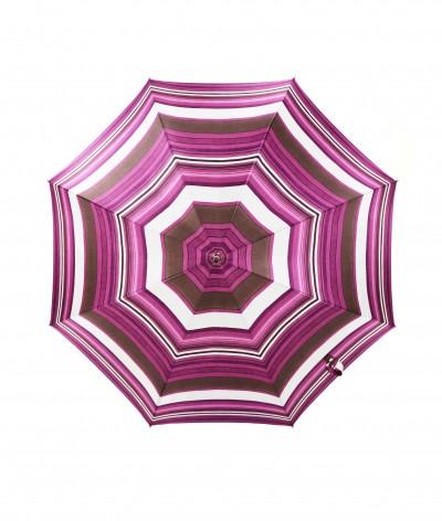 → Parapluie Satin Imprimé Fantaisie - Long Manuel N°17 - Made in France par Maison Pierre Vaux Fabricant Français de Parapluie