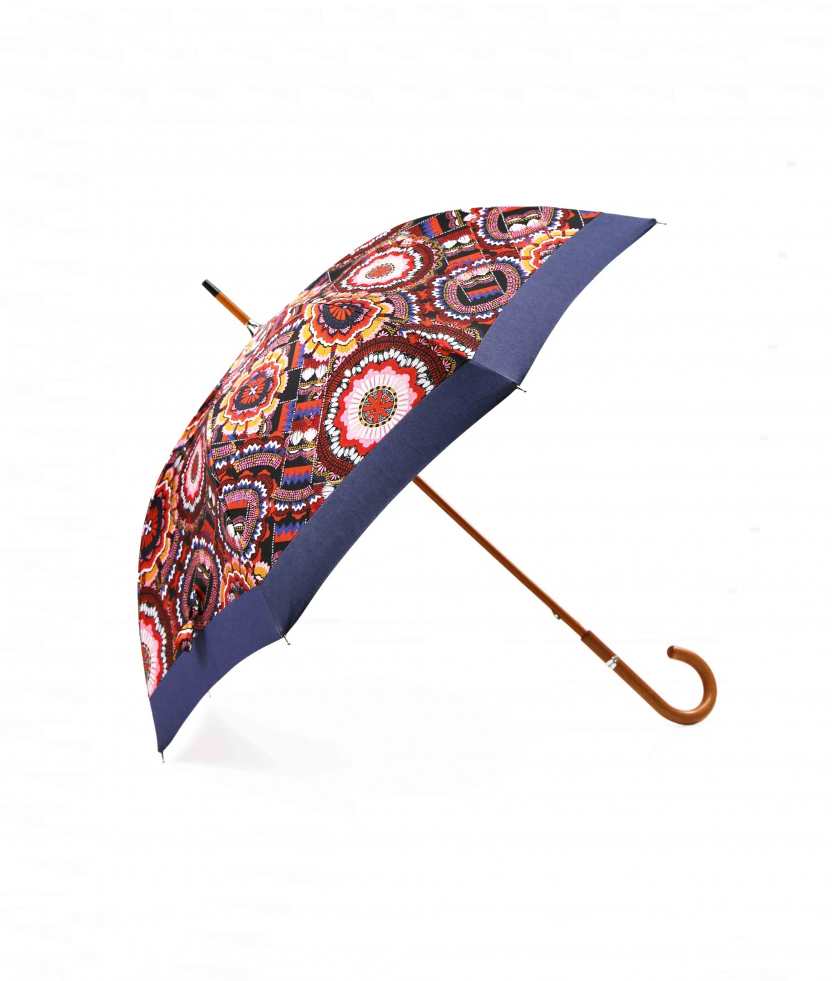 """→ """"Fancy Assembly"""" Umbrella - Long Manual N°1 - Made in France by the French Umbrellas Manufacturer Maison Pierre Vaux"""