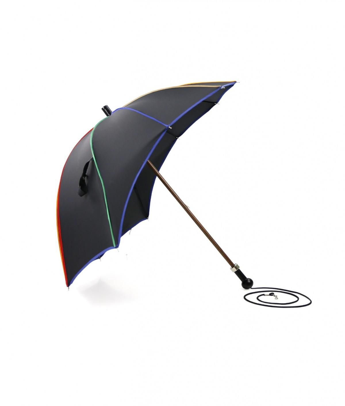 →  Umbrella Visor - Black - Made in France by Maison Pierre Vaux - Umbrella's Manufacturer