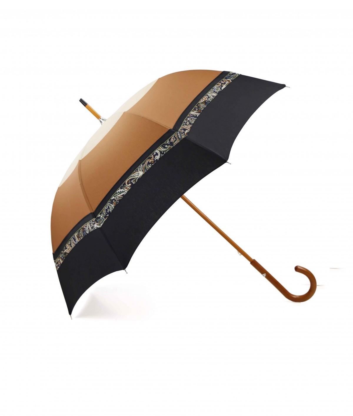 """→ Umbrella """"Le San-Claudien"""" - N°1- Long Manual - Made in France"""
