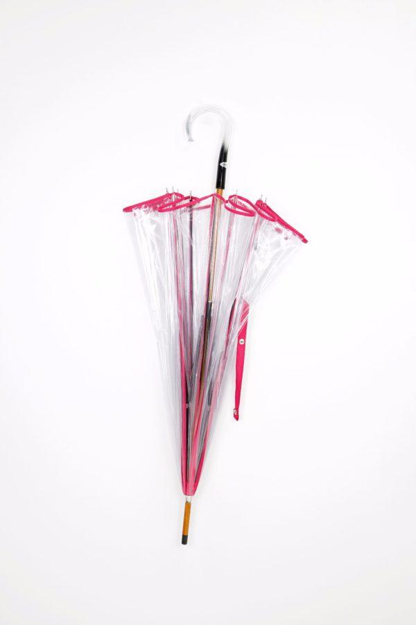 → Parapluie en Cloche Transparent Maison Pierre Vaux Sa Majesté Elisabeth II